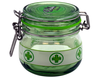 Apothecary Jar- Medical Leaf