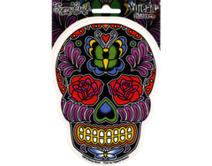"Die Cut Sticker ""Butterfly Sugar Skull"""