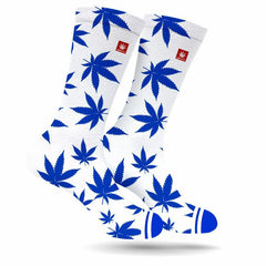 Large Dodger Blue Old School Socks