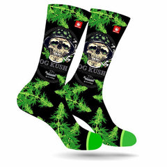 Large OG Kush Cannabis Socks