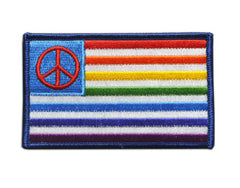 """Rainbow Peace Flag"" Patch"