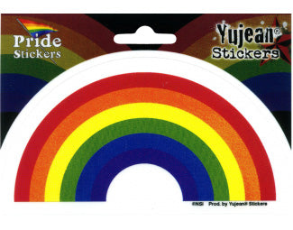 "Die Cut Sticker ""Traditional Rainbow"""