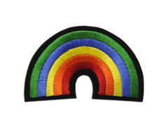"""Rainbow with black outline"" Patch"