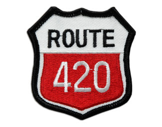 """Route 420"" Patch"