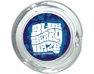 Blueberry Haze Glass Ashtray