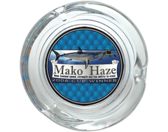 Mako Haze Glass Ashtray