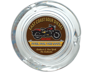 East Coast Sour Diesel Glass Ashtray