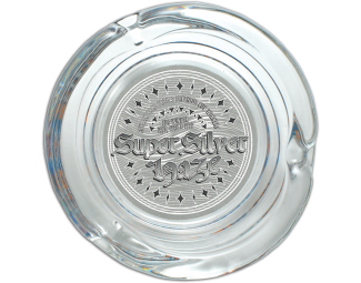 Super Silver Haze Glass Ashtray