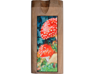 Doug's Full Color Dugout- Amanita Muscaria Fungus