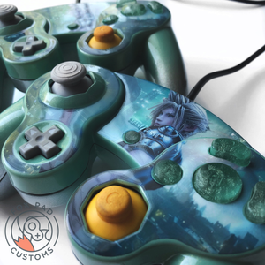 CLOUD STRIFE CUSTOM CONTROLLER