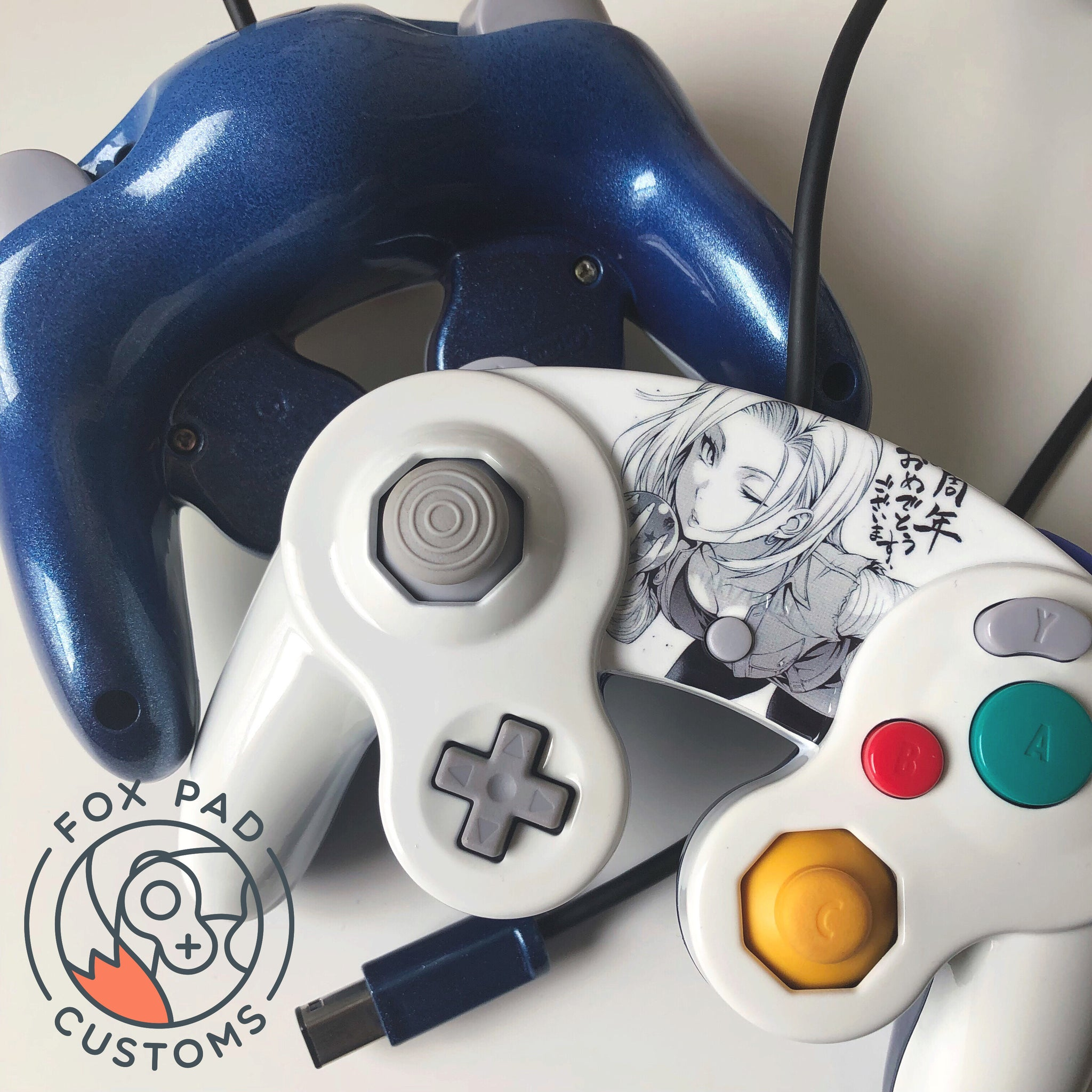 ANDROID18 CUSTOM CONTROLLER – foxpad customs