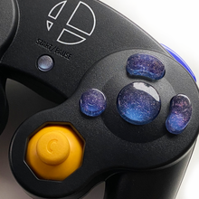 BLUE GAMECUBE CONTROLLER BUTTON SET