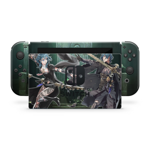 BYLETH SWITCH DOCK AND JOYCON SKIN