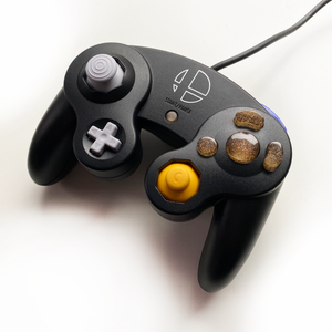 GOLD GAMECUBE CONTROLLER BUTTON SET