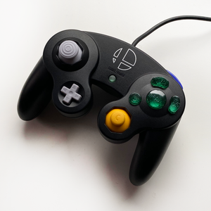 GREEN GAMECUBE CONTROLLER BUTTON SET