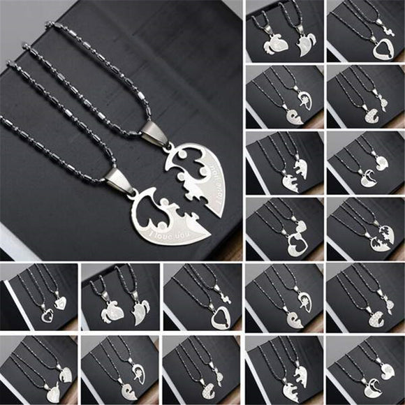 Titanium Couples Necklaces 19 Styles