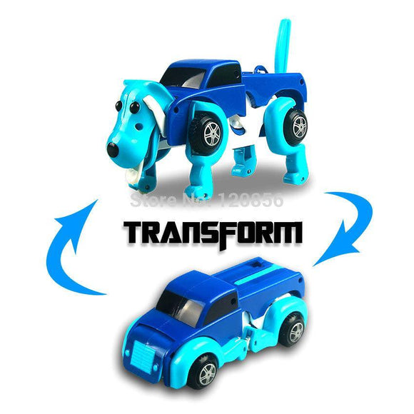 Automatic Transforming Dog Car Toy