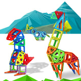 Plastic Magnetic Construction Building Blocks
