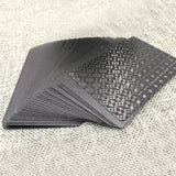 Waterproof Black Diamond Playing Cards