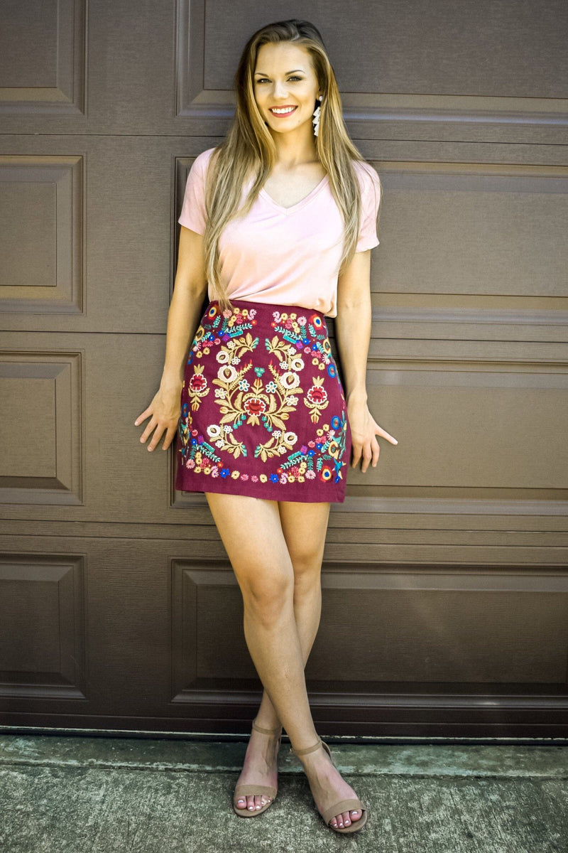 Cora Bella Skirt - Luxe Boutique