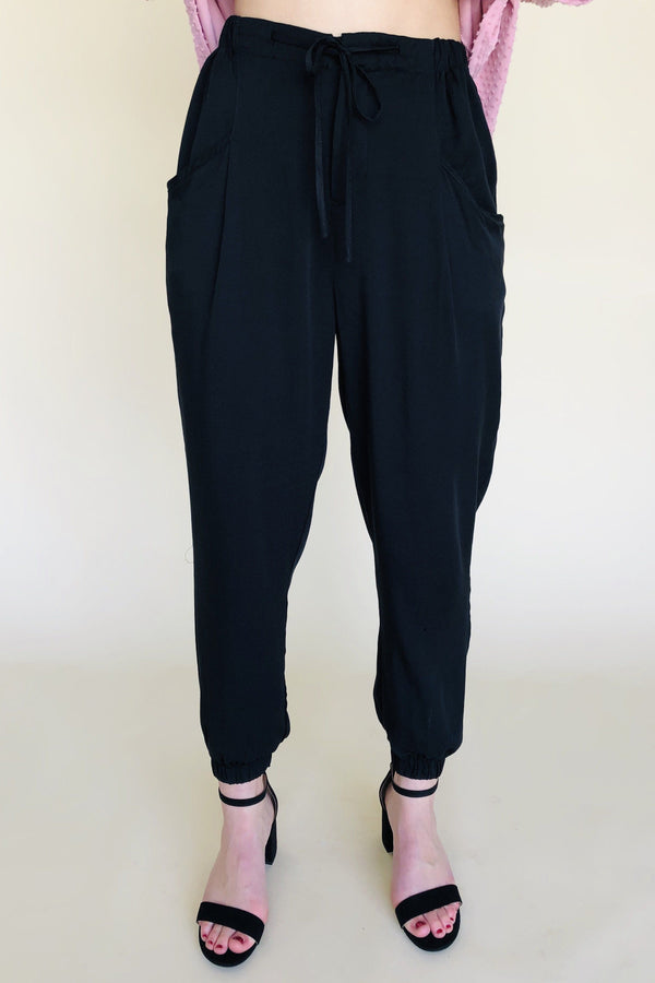 Hannah High Waist Pants-Pants-Luxe Boutique