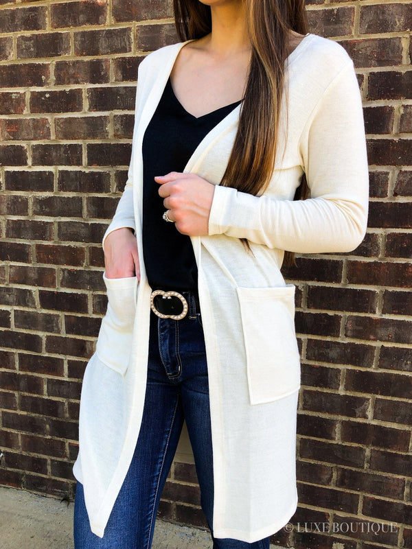 Willow Duster Cardigan - Luxe Boutique