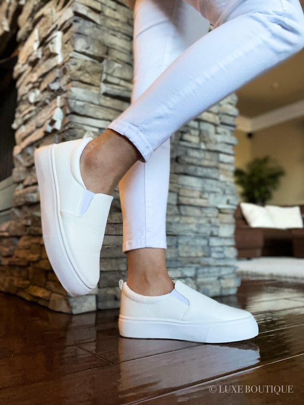 Reese Platform Slip-On Sneakers-Shoes-Luxe Boutique