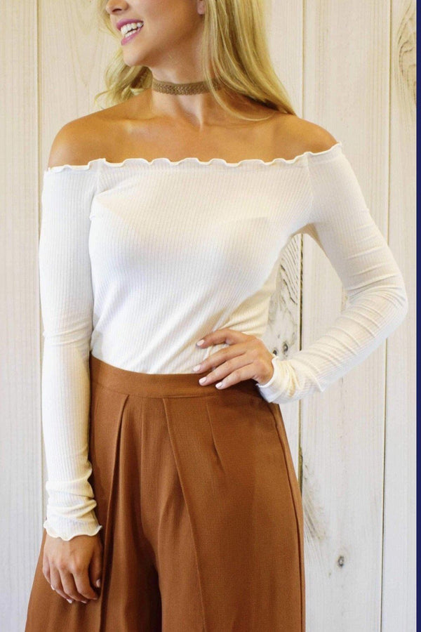 Layla Top-Blouses-Luxe Boutique