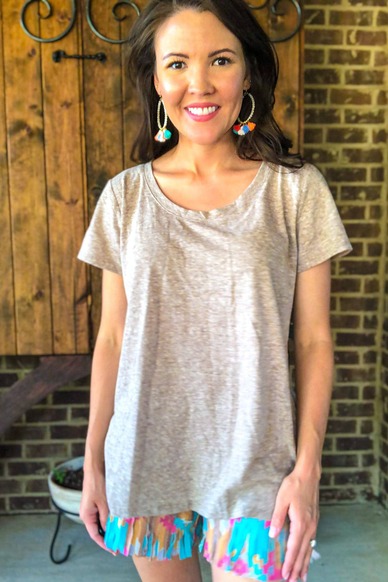 Love-Me-A-Latte Tee - Luxe Boutique