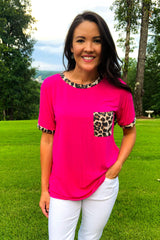 Rawr Pocket Tee - Luxe Boutique