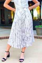 Ritzy Midi Skirt-Skirts-Luxe Boutique