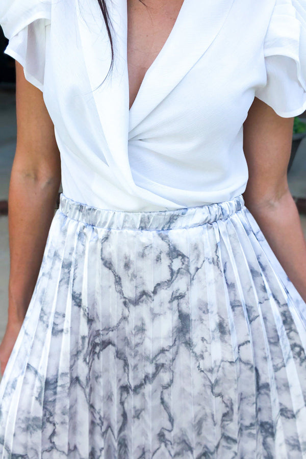 Ritzy Midi Skirt - Luxe Boutique