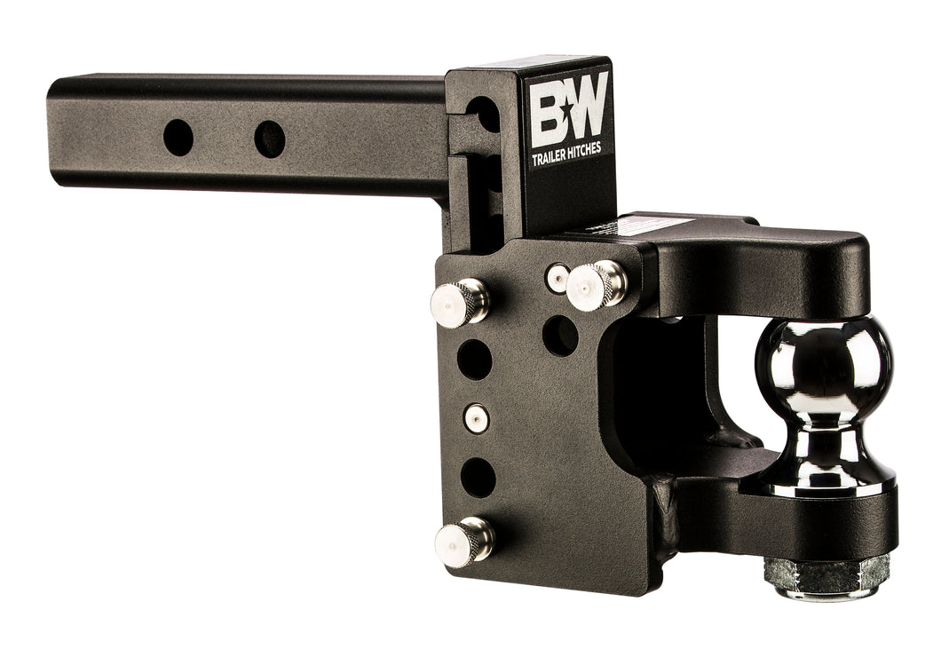 TOW & STOW PINTLE HITCH, 8.5
