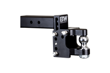 "TOW & STOW PINTLE HITCH, 8.5"" DROP, BLACK"
