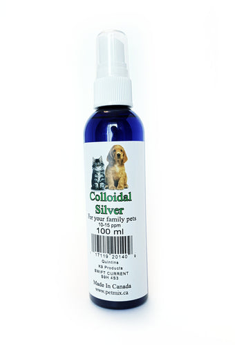 Colloidal Silver - The Crunchy Canine