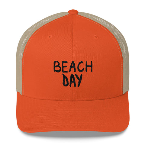 Beach Day Trucker Cap