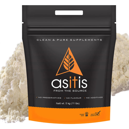 AS-IT-IS Nutrition Whey Protein Concentrate 80% Unflavoured, tested for purity - 5 Kg