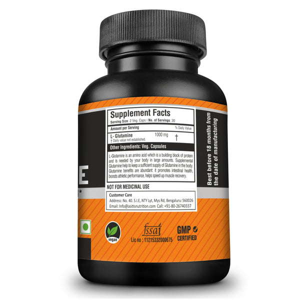 AS-IT-IS L-Glutamine Capsules