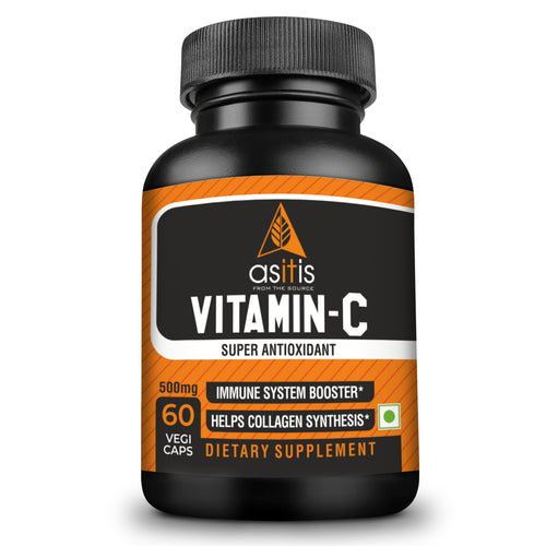 AS-IT-IS Nutrition Vitamin C 500mg - 60 capsules | Lab Tested | Zero Fillers