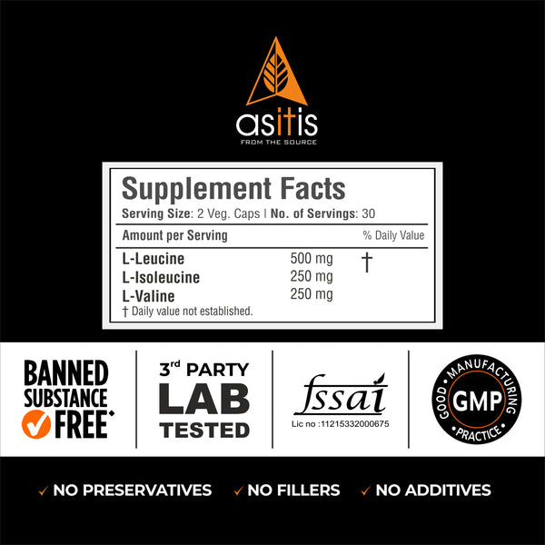 bcaa capsules 3rd party lab tested