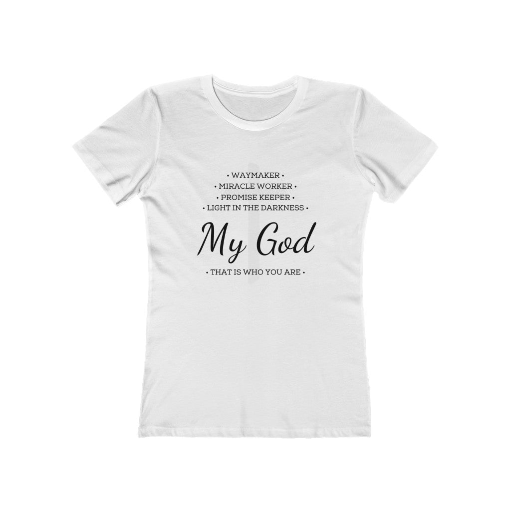 Waymaker Cross Women's Boyfriend Tee