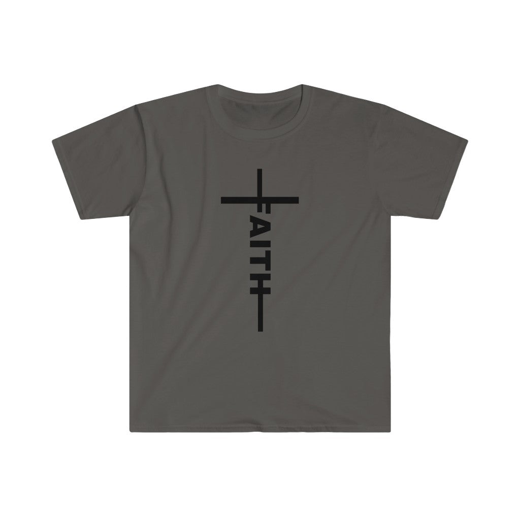 Faith Cross Men's Fitted Tee