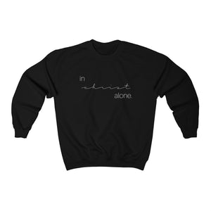 In Christ Alone Unisex Sweatshirt