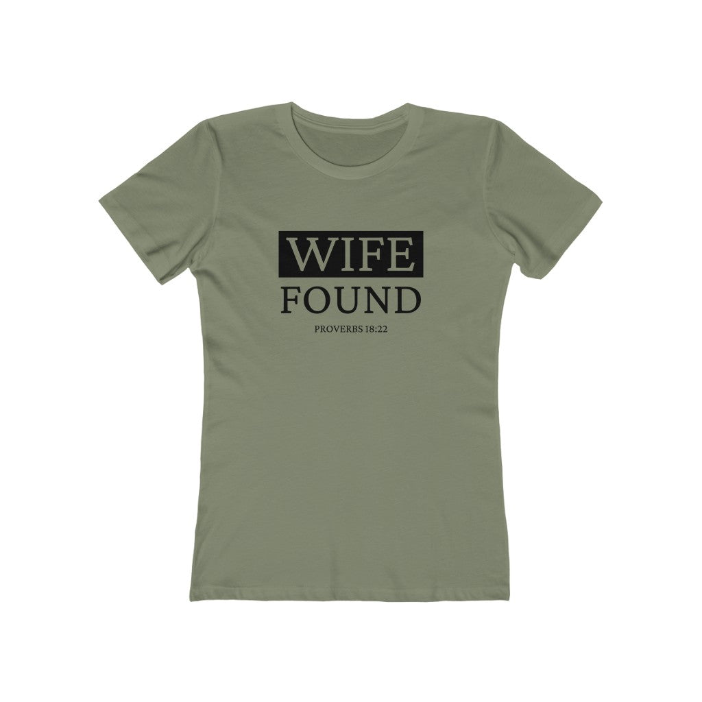 He Who Finds a Wife Couples Tee