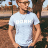 Born Again Men's Fitted  Tee