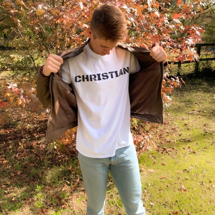Christian Men's Fitted Tee
