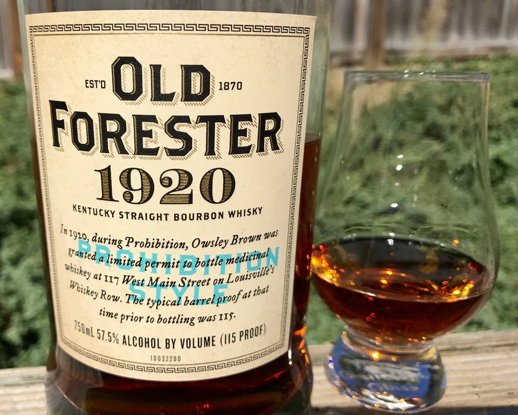 Bourbon Review: Old Forester 1920 Prohibition