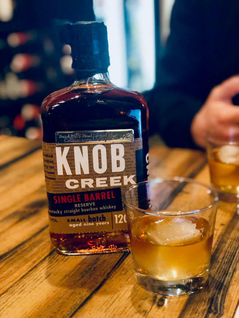 Bourbon Review- Knob Creek Commonwealth Tap Barrel Selection