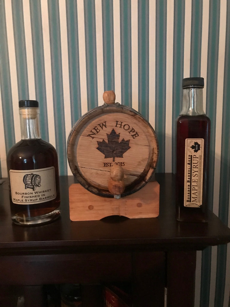 Barrel Aged Bourbon Syrup
