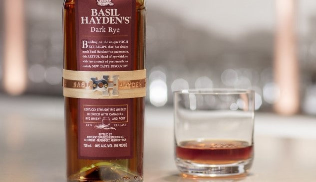 Bourbon Review: Basil Hayden Dark Rye